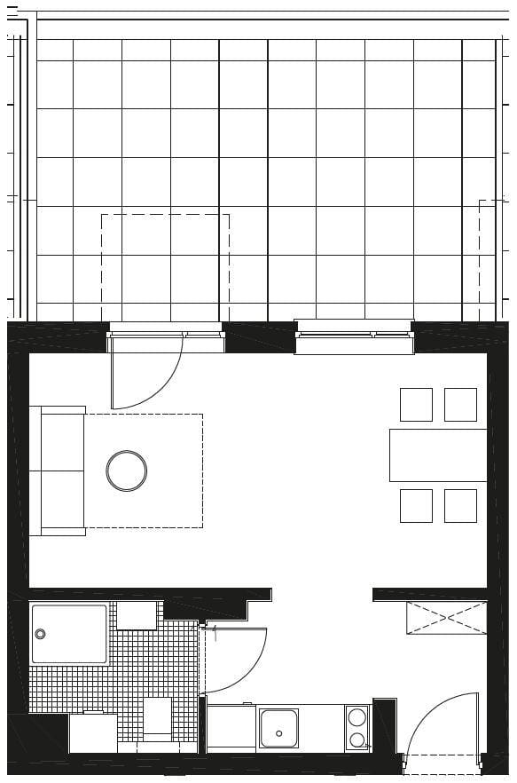 parter 1 - Parter rzuty mieszkań