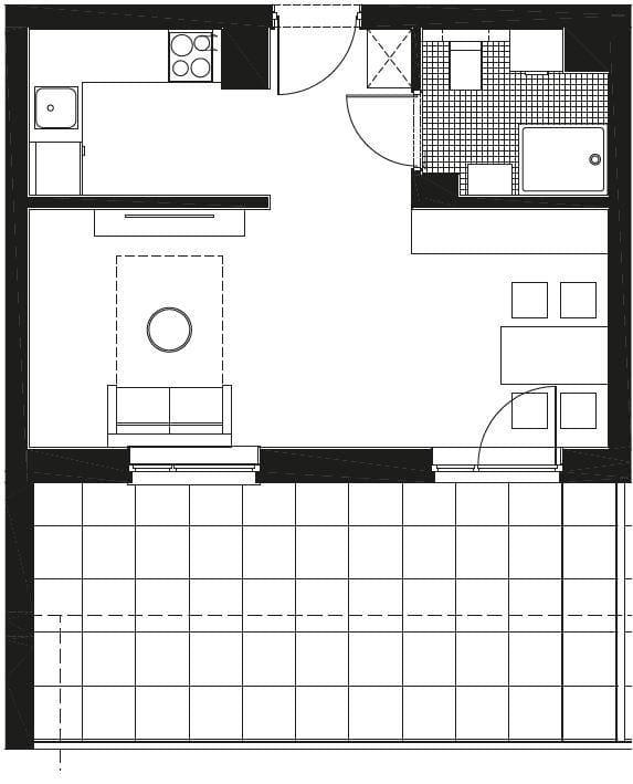 parter 2 - Parter rzuty mieszkań