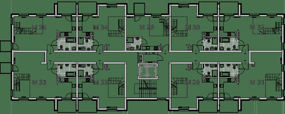 NUMERACJA III PIETRO - Trzecie piętro IX