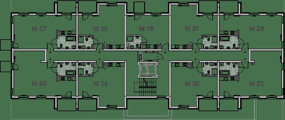 NUMERACJA II PIETRO - Drugie piętro IX